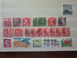 Suedia - 38 timbre stampilate deparaiate