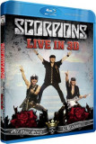 SCORPIONS Get Your Sting And Black Out Live 20113D (bluray)