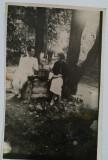 """Vizantea, La fântâna de la """"Stejarul Verde""""  august 1934"""