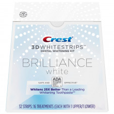 Crest Whitestrips 3D Brilliance White – Cutie 16 Plicuri