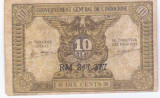 Indochina Franceza 10 Cents 1942 - vand bancnota din imagine
