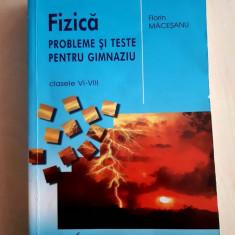 Culegere FIZICA Măceșanu cls 6-8