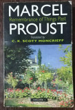 REMBRANCE OF THINGS PAST VOL I - MARCEL PROUST