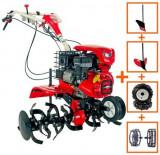 MOTOCULTOR LONCIN LC1200 (3+1) 8CP CU ROTI C. + PLUG + RARITA + ROTI M.
