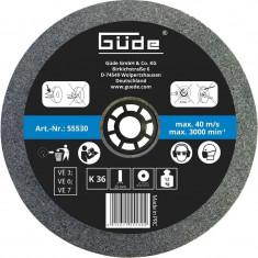 Disc abraziv pentru polizor de banc Guede Gude55530 O175x25x32 mm K36