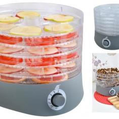Aparat deshidratat fructe sau legume pe 6 nivele, putere 280W, temperaturi intre 40-70 grade