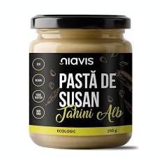 Pasta de Susan Tahini Alb Bio 250grame Niavis Cod: NIA131n