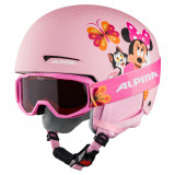 Cumpara ieftin Set casca si ochelari Alpina Zupo Disney Minnie Mouse