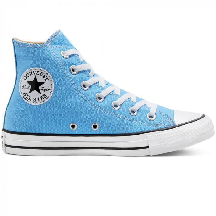 Shoes Converse Chuck Taylor All Star Hi Light Blue