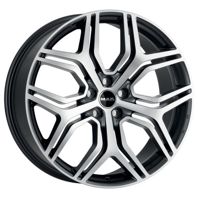 Jante FORD EDGE (O.E. ALLOY WHEELS) 8.5J x 20 Inch 5X108 et42 - Mak Kingdom Gun Met-mirror Face - pret / buc foto
