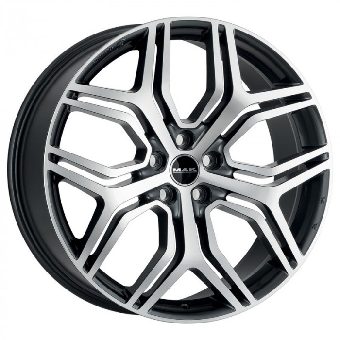 Jante FORD EDGE (O.E. ALLOY WHEELS) 8.5J x 20 Inch 5X108 et42 - Mak Kingdom Gun Met-mirror Face - pret / buc