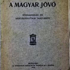 Vadnay Tibor: A magyar jövő : közgazdaság- és szociálpolitikai tanulmány - 1039 (carte pe limba maghiara)