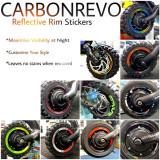 Stickere Carbonrevo reflectorizante jante 10 inci Dualtron