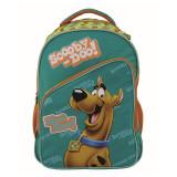 Ghiozdan Scooby Doo, clasele 1-4, forma anatomica, impermeabil, 43 cm