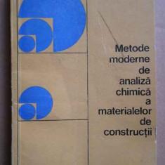 Metode Moderne De Analiza Chimica A Materialelor De Construct - I.i. Kurbatova ,273524