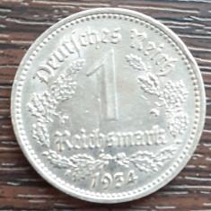 (M120) MONEDA GERMANIA - 1 MARK (REICHSMARK) 1934, LIT. A