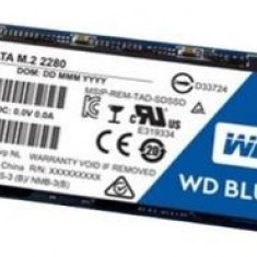 SSD Western Digital Blue, 500GB, M.2 2280, Sata III 600