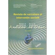 Revista De Cercetare Si Interventie Sociala - Nr.: 4/2004