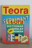 Supliment. Dictionar englez-roman