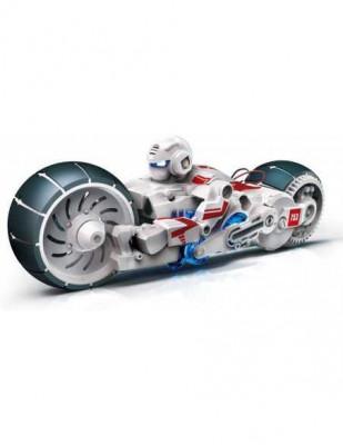 Motocicleta cu celule de combustibil cu apa sarata CIC 21-753 foto