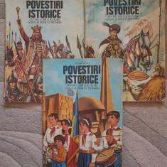 POVESTIRI ISTORICE - Dumitru Almas  (3 volume)