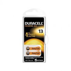Baterii pentru proteze auditive Duracell ZA13 Zinc-Aer 6 Baterii /set
