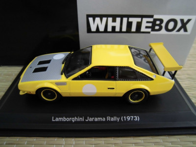 Macheta Lamborghini Jarama Rally 1973 1 43 Whitebox Okazii Ro