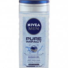 Nivea Gel de dus Barbati 250 ml Pure Impact