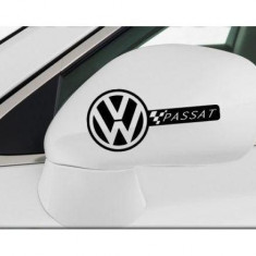 Sticker oglinda VW Passat