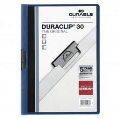 Dosar plastic Duraclip Original 30 Durable albastru
