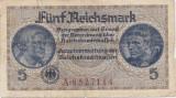 GERMANIA 5 Reichsmark 1940-1945 UZATA