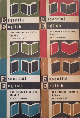 ESSENTIAL ENGLISH FOR FOREIGN STUDENTS  (4 volume) - C. E.  Eckersley foto