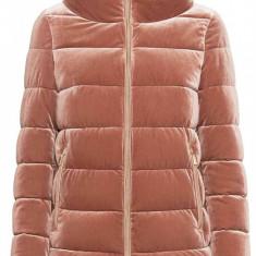Jacheta textil dama, din poliamida, Geox, W9428Y-F8254-N-54-06, roz inchis