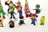 Cumpara ieftin Set 18 figurine Super Mario Bros (Mario, Luigi si Yoshi) Nintendo
