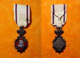 Decoratia - Crucea MERITUL SANITAR REGALIST -tip I - medalie - ordin - militar
