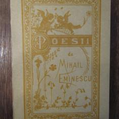 MIHAIL EMINESCU - POESII reproducere 1884