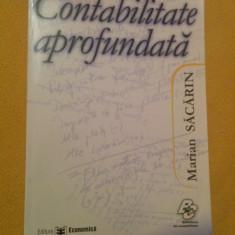 Contabilitate aprofundata - Marian Sacarin (Editura Economica)