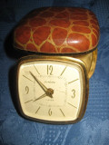 373- Europa-Ceas vechi voiaj functional capac gen piele de sarpe maro.