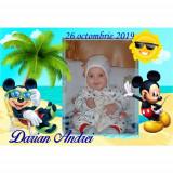 Marturii botez magneti Handmade by Diana Puiu Mickey Mouse MDBM 8