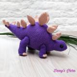 Dinozaur - jucarie handmade crosetata