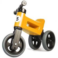 Tricicleta fara Pedale Rider Sport 2 in 1 Portocaliu