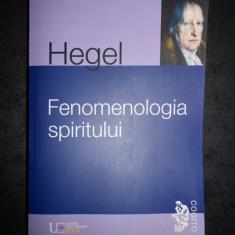 G. W. F. HEGEL - FENOMENOLOGIA SPIRITULUI