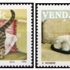 Venda 1993 - Pisici, serie neuzata