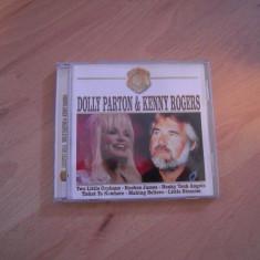 LOT DE 2 CD-uri originale Dolly Parton & Kenny Rogers - Country Gold, Anastasia