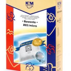Sac aspirator Rowenta ZR76, sintetic, 4X saci, K&M