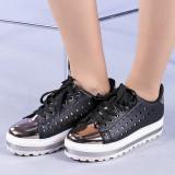 Pantofi sport dama Marlene negri, 36 - 41