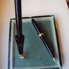Stilou  cu   penita   de  aur   si pix OMAS