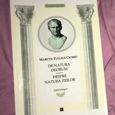 De natura deorum ed. bilingva ro-latina / Cicero