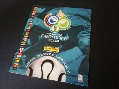 Album gol Panini World Cup 2006 Germania foto