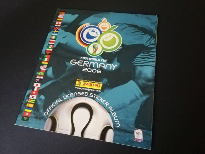 Album gol Panini World Cup 2006 Germania